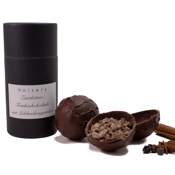 Chocobomb Trinkschokolade Zartbitter